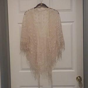 Indigo Thread Co Crocheted Cardigan